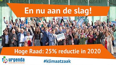 Nederlandse Staat moet versnellen: volgend jaar 25% minder CO2-eq uitstoten dan in 1990